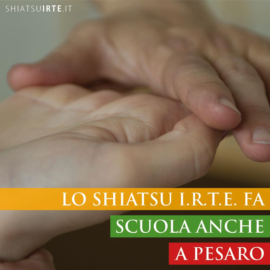 Lo Shiatsu I.R.T.E. fa Scuola anche a Pesaro