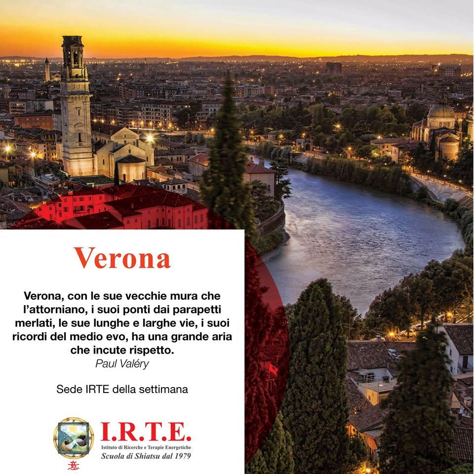 La Scuola Shiatsu IRTE a Verona