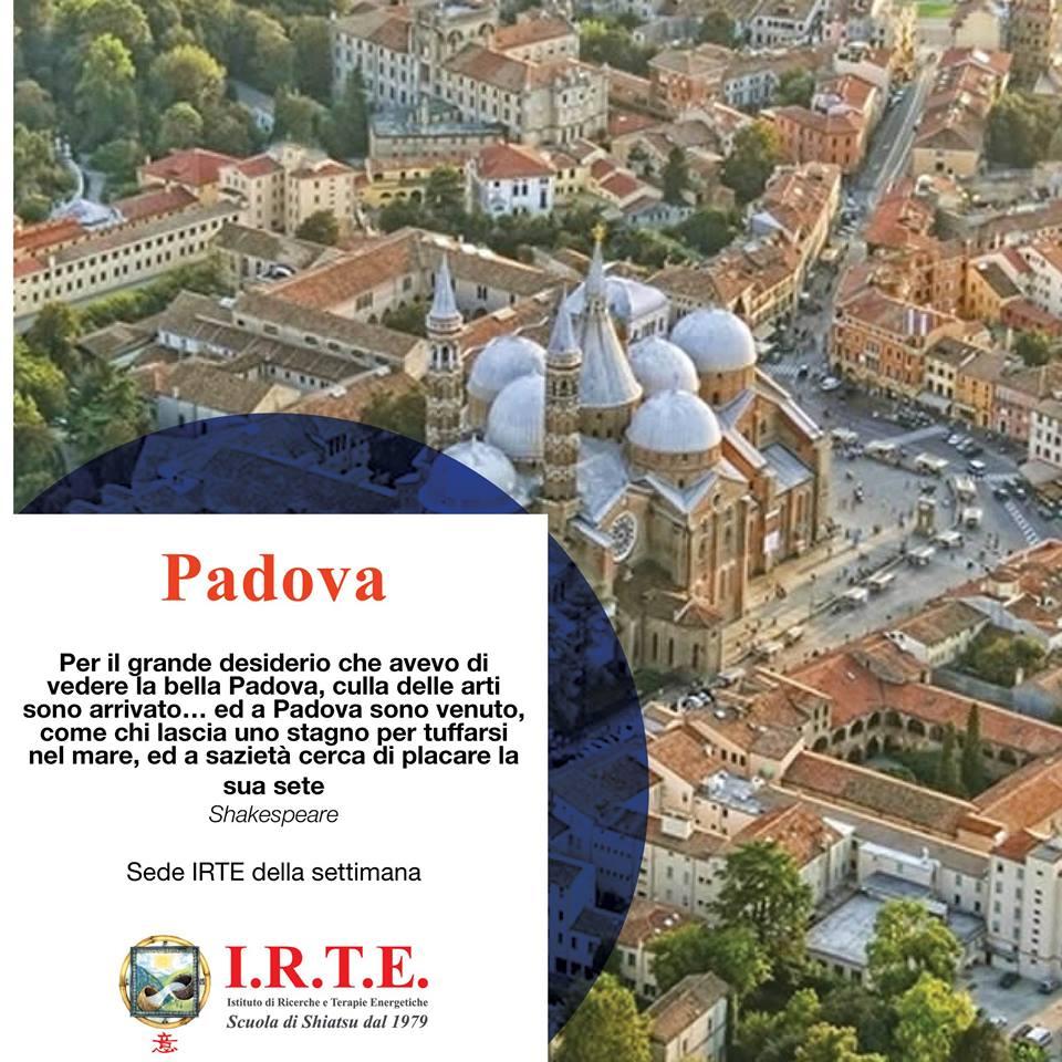 La Scuola Shiatsu IRTE a Padova
