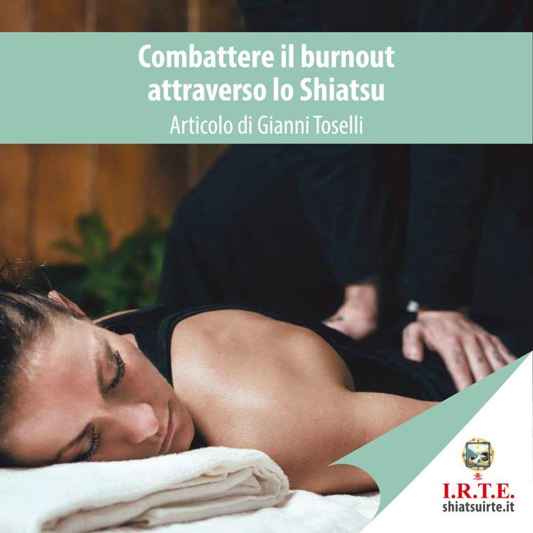 Combattere il burnout attraverso lo Shiatsu