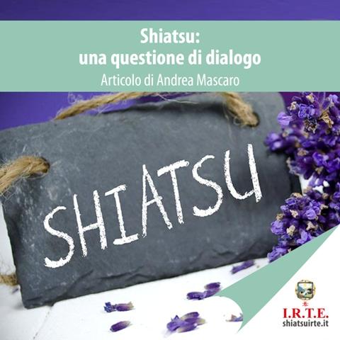 Shiatsu: una questione di dialogo