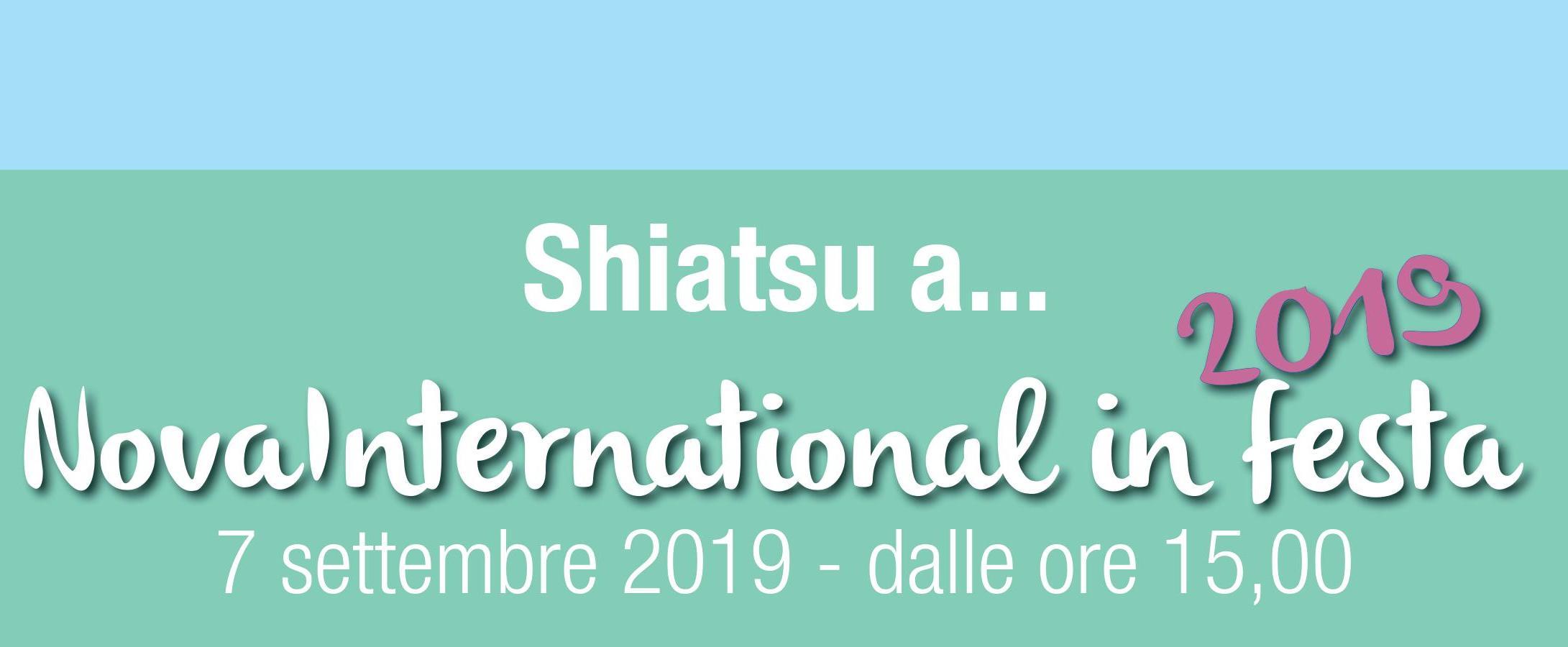 Lo Shiatsu IRTE per l'associazione NOVA