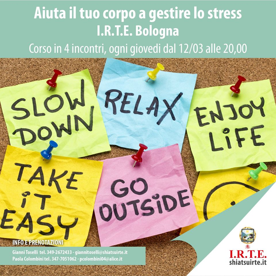 Aiuta il tuo corpo a gestire lo stress