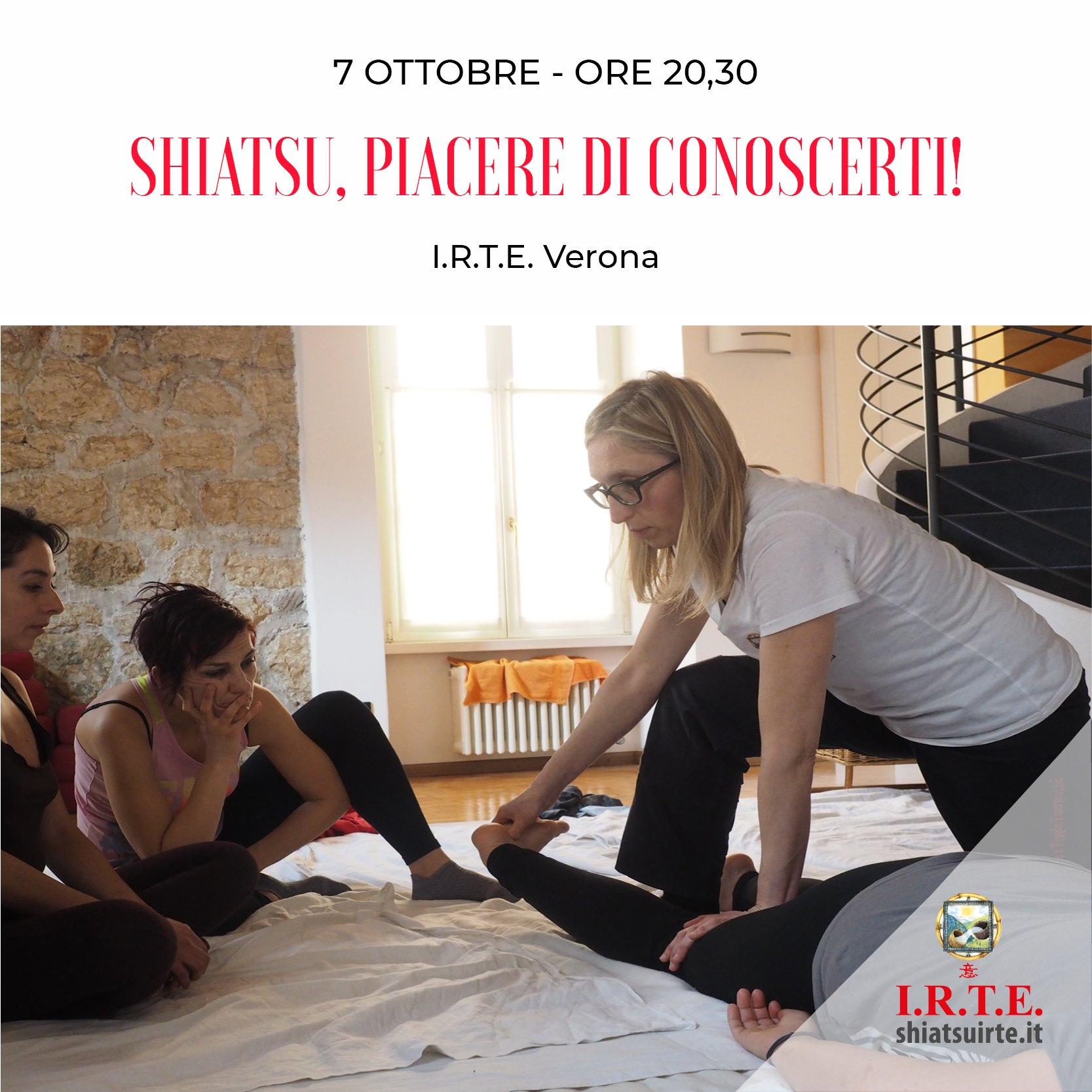 Verona, 07 Ottobre 2020 Piacere di conoscerti