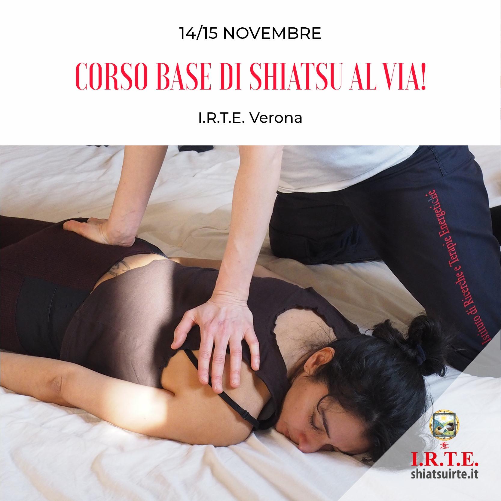 Verona, 14.15 Novembre 2020 Corso Base al via!